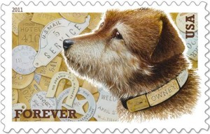 Owney the postal dog.