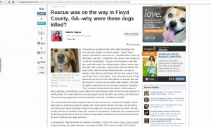 Floyd ASPCA irony